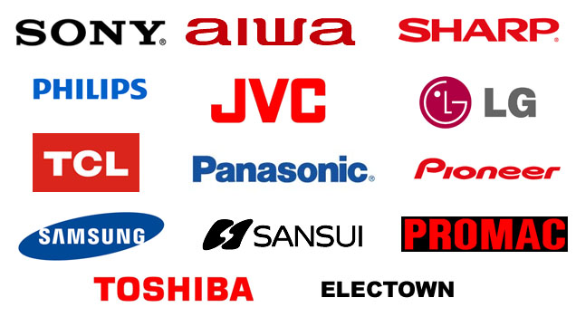 Electronics Brands Log...